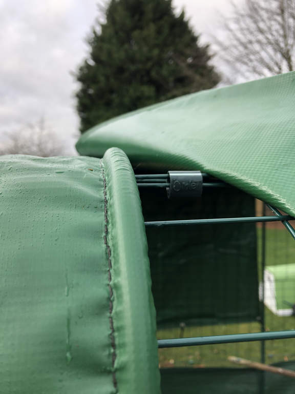 Heavy Duty Cover With Gutter Edge For Walk In Run 3m Outdoor