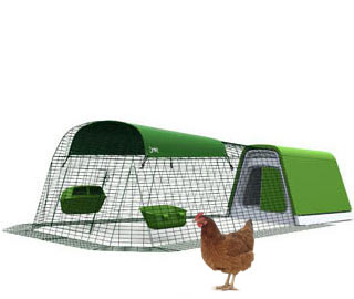 Eglu Go Chicken Coop with 2m Run