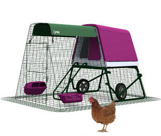 Eglu Go Up Chicken Coop with 2m Run