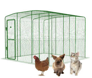 Walk in Run for Chickens, Rabbits and Cats